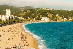 Lloret de mar Испания стоковая фотография rf
