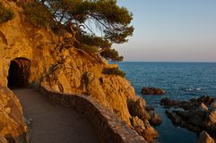 Lloret de Mar Royalty Free Stock Photo