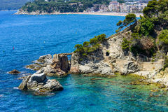 Lloret de mar Royalty Free Stock Image