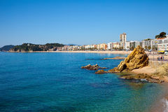 Lloret de Mar area. Costa Brava Royalty Free Stock Photo