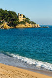 Lloret de Mar beach Stock Photography