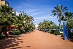 Lloret de mar, Коста Brava, Hiszpania стоковые фотографии rf