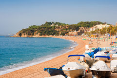 Lloret De Mar. Catalonia, Spain Stock Photo