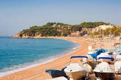 Lloret De Mar. Catalonia, Spain. Costa Brava landscape near Lloret de Mar. Catalonia, Spain Stock Photo
