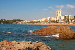 Lloret De Mar. Catalonia, Spain Royalty Free Stock Photo