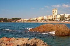 Lloret De Mar. Catalonia, Spain Royalty Free Stock Photo