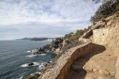 Lloret de Mar,Catalonia,Spain. Royalty Free Stock Photo