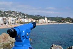 Lloret de Mar Catalonia, Spanien royaltyfria bilder