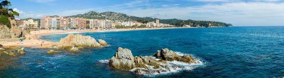 Lloret de Mar coastline Stock Photo