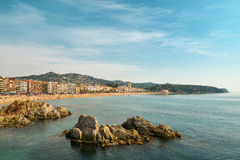 Lloret de Mar. Costa Brava. Royalty Free Stock Images
