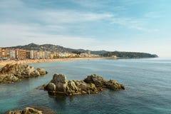Lloret de Mar. Costa Brava. Royalty Free Stock Photography