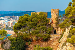 Lloret de Mar on the Costa Brava, Catalunya, Spain Stock Image