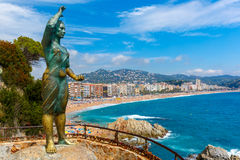 Lloret de Mar on the Costa Brava, Catalunya, Spain Royalty Free Stock Photo