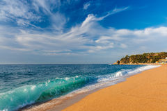 Lloret de Mar on the Costa Brava, Catalunya, Spain Stock Photography