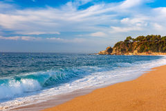 Lloret de Mar on the Costa Brava, Catalunya, Spain Royalty Free Stock Images