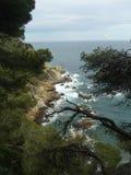 Lloret de Mar, Costa Brava, España, Barselona Imagenes de archivo