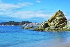 Lloret de Mar, in the Costa Brava, Spain Stock Photography