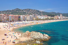 Lloret-de-Mar,Costa Brava,Spain Stock Photos