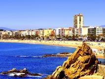 Lloret de Mar, Costa Brava, Spain. Royalty Free Stock Images
