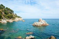Lloret de Mar, Costa brava Royalty Free Stock Photos