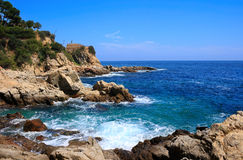 Lloret de Mar (Costa Brava, Spain) royalty free stock image
