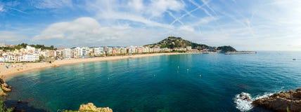 Lloret De Mar linia brzegowa Zdjęcie Royalty Free