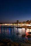Lloret de Mar at night Stock Photography