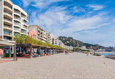 Lloret de Mar promenade Stock Photography