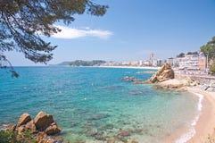 Lloret de Mar, Spagna Fotografia Stock