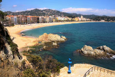 Lloret de Mar (Spain) Royalty Free Stock Images