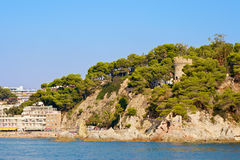 Lloret de Mar. Spain Royalty Free Stock Photos