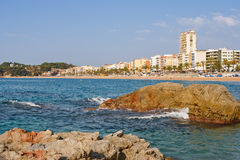 Lloret de mar. Spain Stock Image