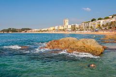 Lloret De Mar. Spain Stock Photos