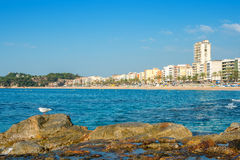 Lloret De Mar. Spain Royalty Free Stock Photo