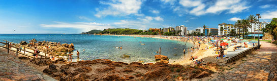 LLORET DE MAR, SPAIN. Royalty Free Stock Photo