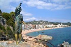Lloret de Mar, Spain Royalty Free Stock Images