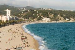 Lloret de Mar Spanien Stockfotografie