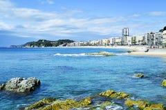 Lloret De Mar, w Costa Brava, Hiszpania obraz royalty free