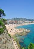 Lloret-de-Marcha, costa Brava, España fotografía de archivo
