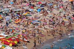 Lloret de marcha, España Fotos de archivo libres de regalías