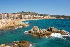 Lloret de marzo Spagna Immagini Stock Libere da Diritti