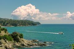 Lloret De Mrz, Costa Brava, Spanien lizenzfreies stockfoto
