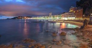 Lloret De Mrz, Costa Brava, Spanien stockbild
