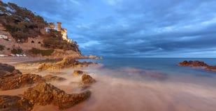 Lloret De Mrz, Costa Brava, Spanien lizenzfreies stockbild