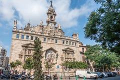Llotja de la Seda i Valencia Arkivbilder