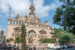 Llotja de la Seda in Valencia Stockbilder