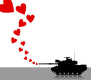 Llove tank Royalty Free Stock Images