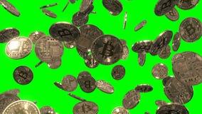 Llover Bitcoins en verde