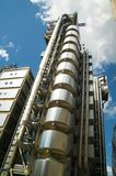 Lloyd's Building. The Lloyd's Building in the heart of the financial district of London is the headquarters of the insurance firm Lloyd's Of London Stock Image