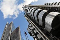 Lloyd e edifício de Willis, Londres. Fotografia de Stock Royalty Free